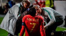 Euro qualifying roundup: Ronaldo injured, England accuses Montenegro of racist taunts