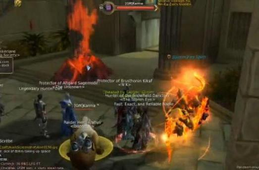 See an Aion GM in action blowing up spammers