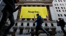 Snap stock drops in late trading as losses grow, but sales and users continue to increase