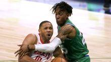 Gordon y Cousins ayudan en triunfo de Rockets ante Mavs