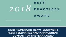 ORBCOMM Earns Acclaim from Frost & Sullivan for Leading the Heavy Vehicles Telematics Market with Its Connected Fleet Solutions