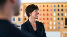 Apples Personalchefin Deirdre O'Brien übernimmt Einzelhandelsgeschäft