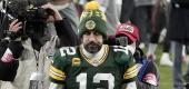 Aaron Rodgers. (Getty Images)