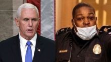 Pence tried to contact Capitol officer Eugene Goodman to thank him