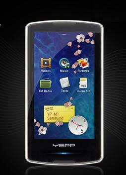 Samsung M1 PMP to challenge Zune HD with some Tegra of its own?