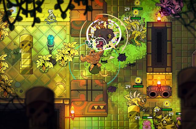 'Nobody Saves the World' is a shapeshifting RPG from DrinkBox Studios