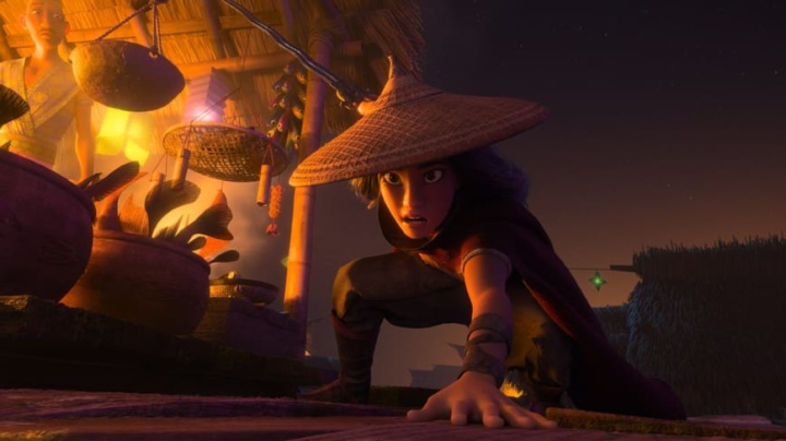 With 'Raya,' Disney has their biggest animated action hero to date