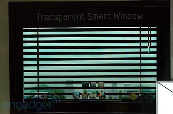 Samsung gets tired of neighbors watching its Transparent Smart Window, installs blinds