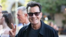 Charlie Sheen celebrates one year of sobriety