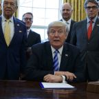 The Latest: Trump administration defends Keystone pipeline