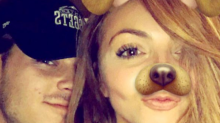Jesy Nelson was dumped by TOWIE's Chris Clark by text - via his girlfriend's phone