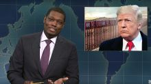 SNL's Michael Che Says He Wants To See Trump's 'Dumbass Wall'