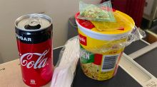 Virgin Australia blasted for serving 2-minute noodles to business class guests