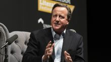 David Cameron accused of 'ruining our country' by heckler