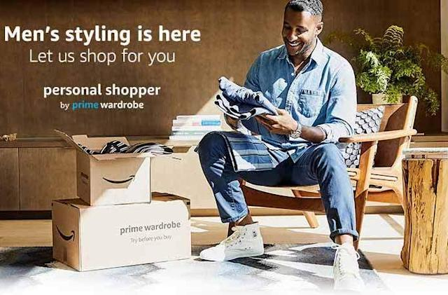 Amazon's personal shopping subscription now includes men's fashion
