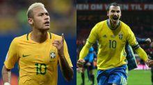 Neymar rend hommage à Zlatan