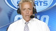 Commentator steps down after 'disgusting' slur caught on-air