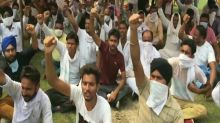Farmers stage protest in Ambala to oppose agriculture ordinances passed by Union Cabinet