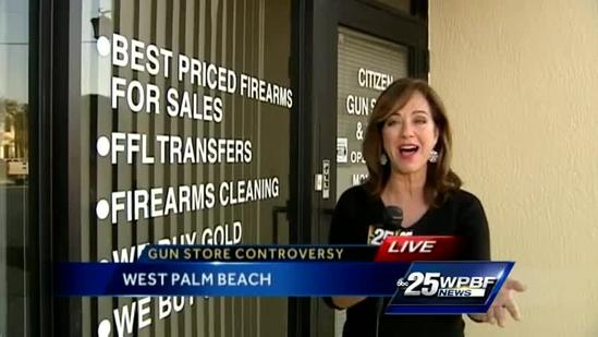 City officials try to stop gun shop from opening near school