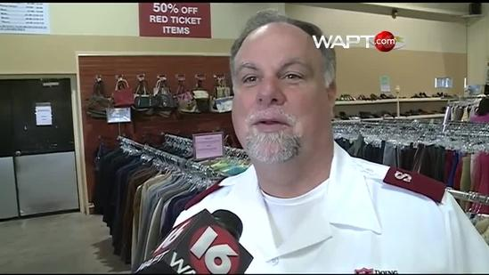 Salvation Army Opens New Store