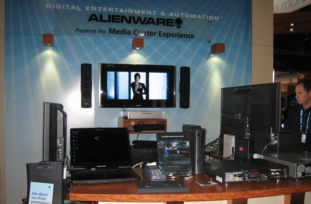 Alienware's CEDIA booth tour