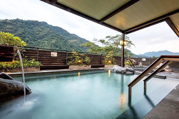 渡假村泉質優良的碳酸溫泉