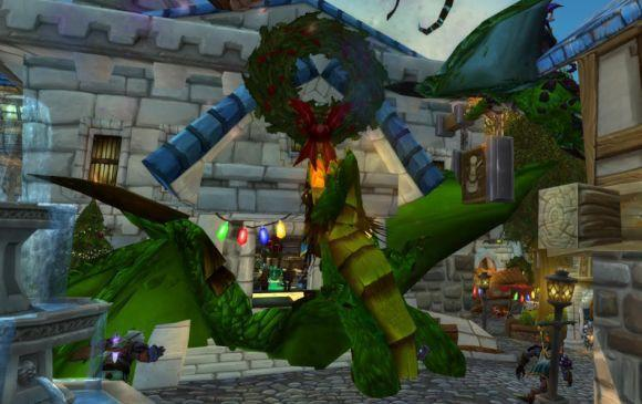 Around Azeroth: Decorating with dragons