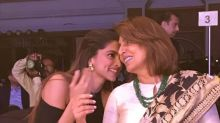 Deepika Padukone and Neetu Kapoor get chatty at the HT Most Stylish Awards