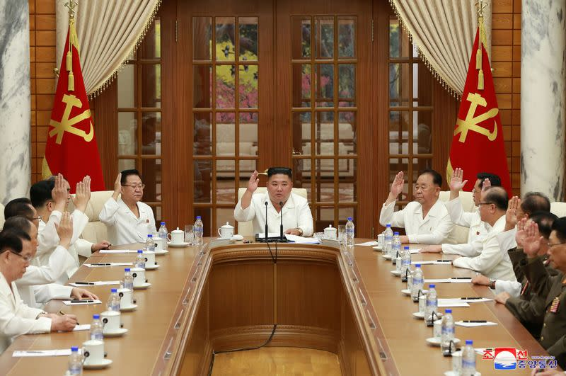 Kim Jong Un calls for prevention efforts against Coronavirus, looming typhoon