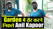 Anil kapoor Spotted In Garden