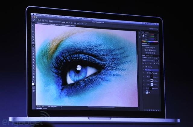 Final Cut Pro, Photoshop, Aperture, AutoCAD and more score Retina Display support