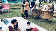 Kareena Kapoor Khan and Saif Ali Khan couldn't stop staring at their baby boy, Taimur Ali Khan in this photo