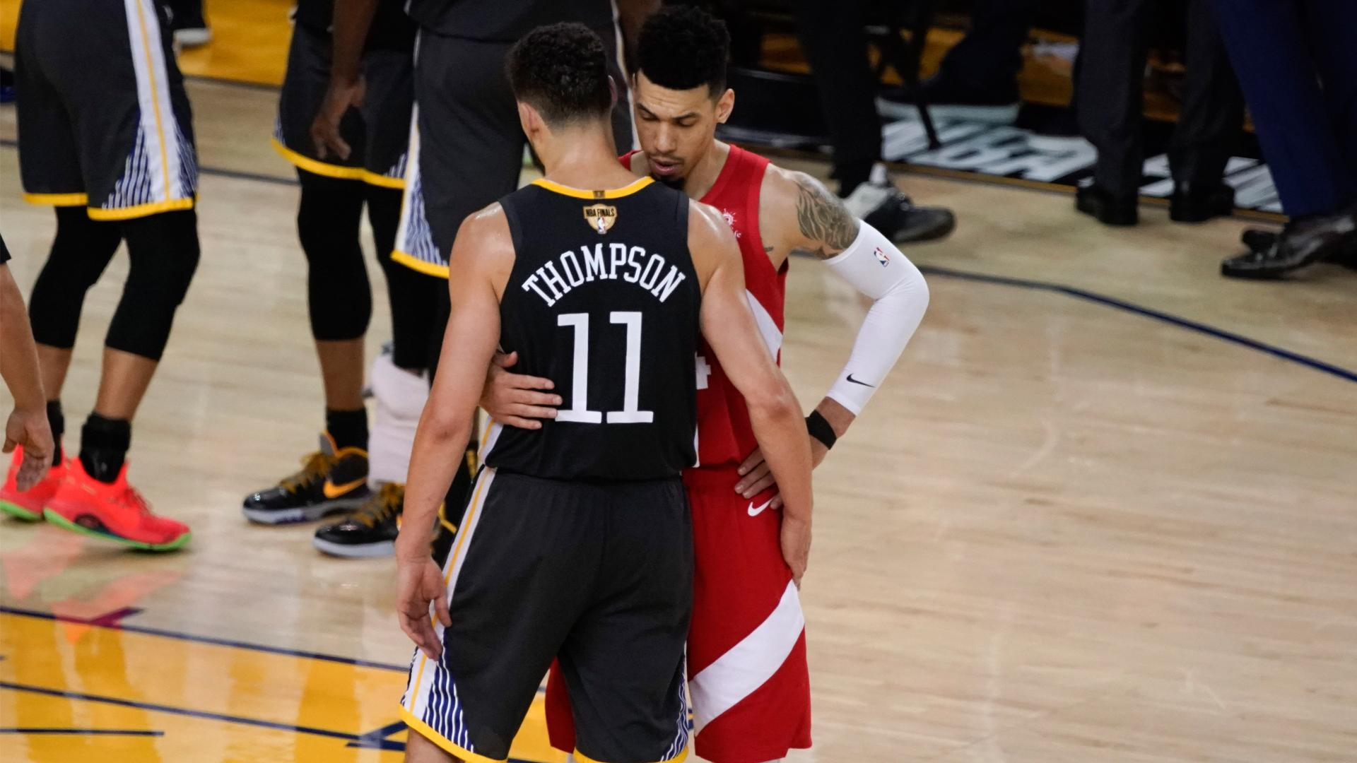 Danny Green reveals what Warriors players said after Klay Thompson injury