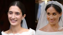 Meghan Markle's Royal Wedding Dress and Beauty Look Inspired Another Princess's Bridal Look