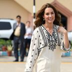 Kate Middleton Mixed Pakistani and British Labels During Last Day of the Royal Tour of Pakistan