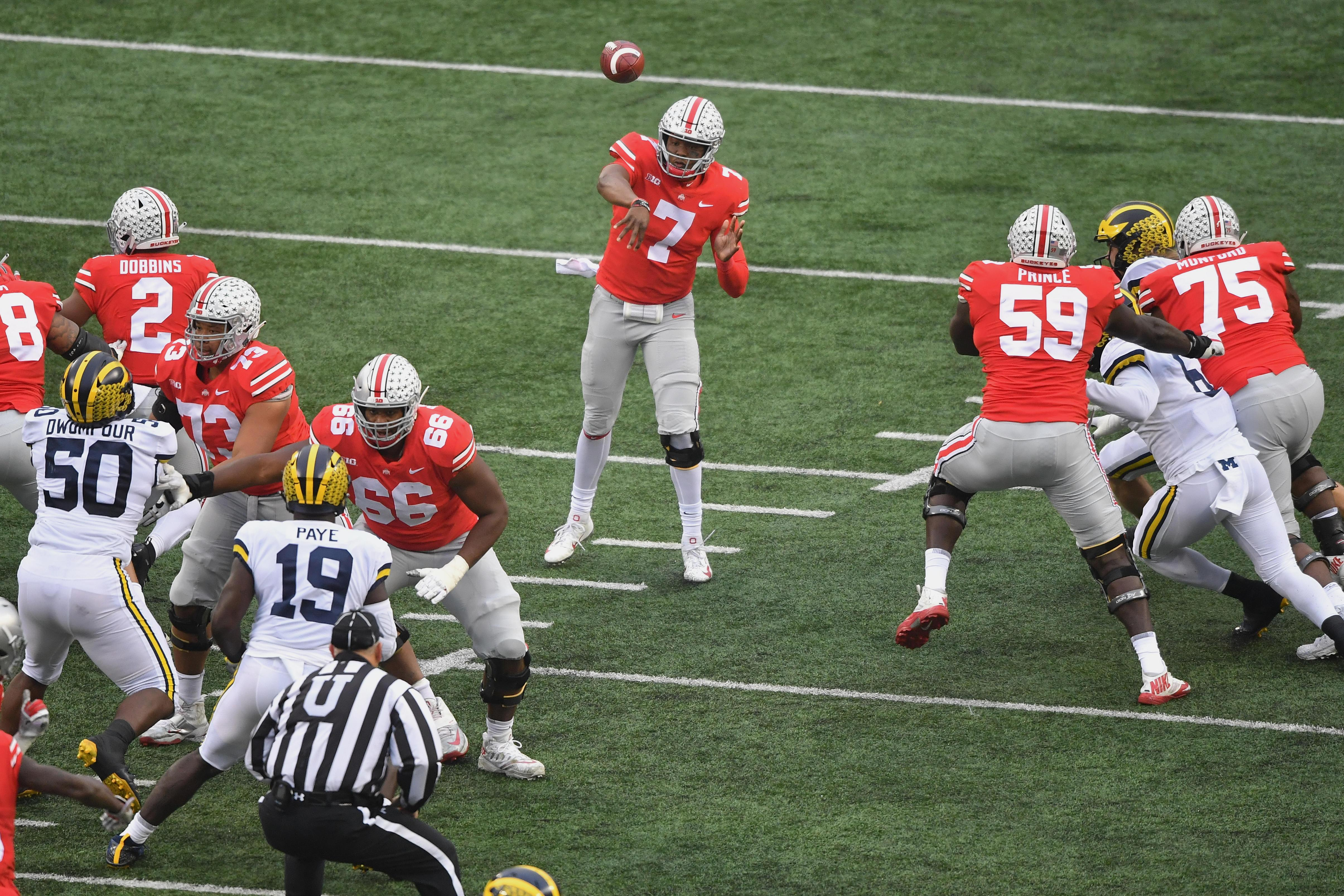 238ee6b0c94 Ohio State is back in the playoff race after destroying Michigan