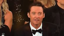 Hugh Jackman may have lost the Golden Globe, but his reaction won the whole show