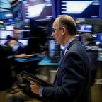 Dow, S&P 500 down as dollar rises, yield curve flattens