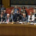 UN security council votes unanimously for month-long Syria ceasefire
