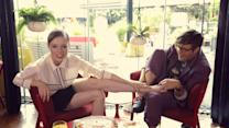 Breakfast with Bevan - Breakfast with Bevan: Model Coco Rocha Having Pizza for Breakfast
