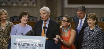 It's in — and it's big: Senators unveil $1T infrastructure bill