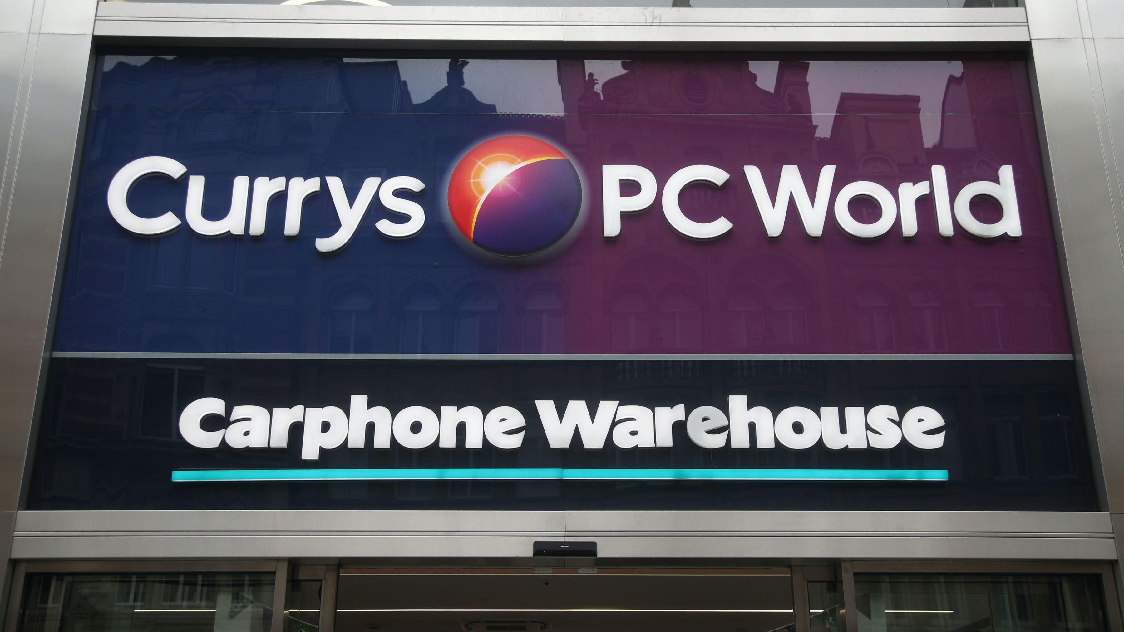 Dixons Carphone shares hit by warning over 'weakening