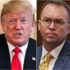 'Please Leave The Room!' Trump Tosses Mulvaney For Coughing During Interview