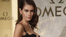 Kaia Gerber's Versace Eyelet Dress Is Goals