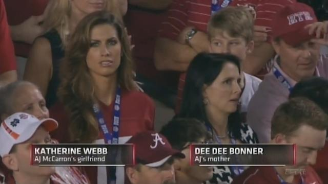 Katherine Webb Credits ESPN's Brent Musburger to Her Fame: 'I'm So Lucky'