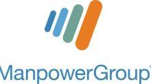 ManpowerGroup Declares $1.09 Dividend