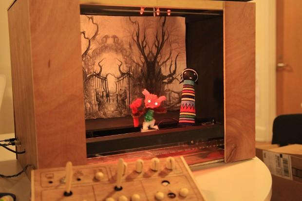 Insert Coin semifinalist: Make a Play is a high-tech puppet stage