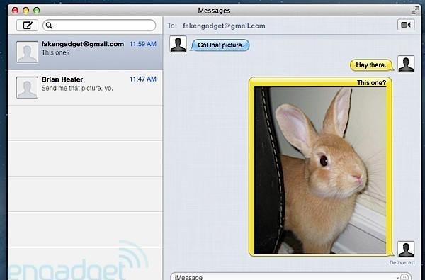 Messages Beta now available for Mac OS X Lion