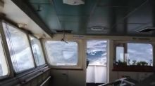 Cargo ship battles giant waves near Bermuda