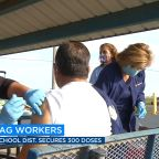 Planada Elementary School District administers 300 vaccines to ag workers